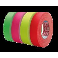 Tesa 4671 Auduma neona līmlenta ar akrila pārklājumu 25m 19mm